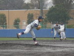 加藤(投手)・小林(一塁手)